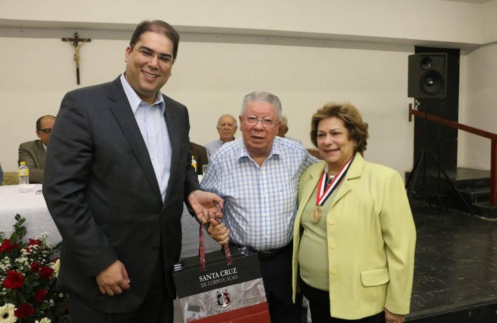 Conselho Deliberativo do Santa Cruz homenageia Marco Maciel