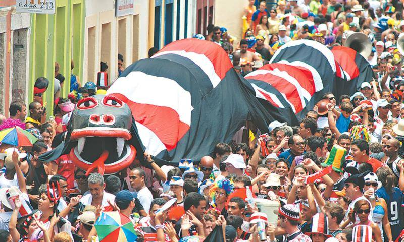 Carnaval é com a massa coral