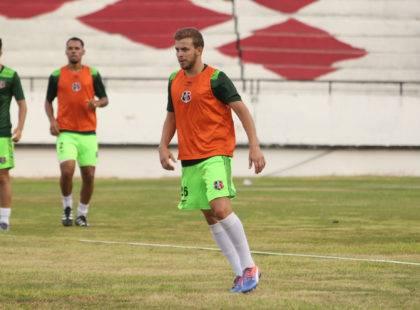 Último treino em Recife e viagem para Salgueiro