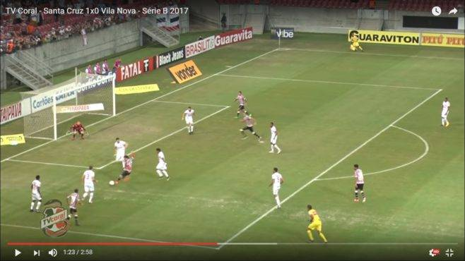 Santa Cruz 1×0 Vila Nova – Série B 2017