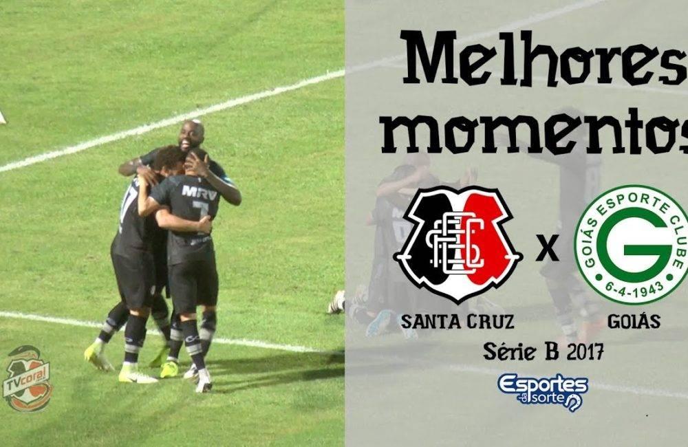 Santa Cruz 3×0 Goiás – 15/09/2017 – Série B