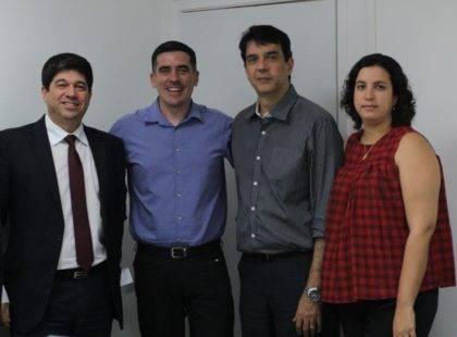 Constantino Júnior visita Justiça do Trabalho visando repactuação das dívidas