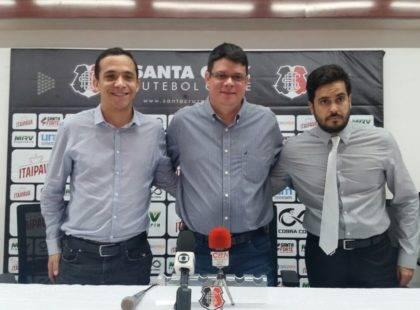 Apresentado, Fred Gomes destaca oportunidade de defender o Santa Cruz