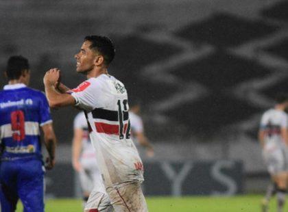 Com grande reestreia de Paraíba, Santa Cruz supera forte chuva e vence o Atlético/AC