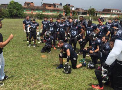 Futebol americano: Santa Cruz Pirates vence mais uma