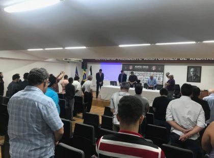 Gena é homenageado e Santa Cruz decreta luto oficial de três dias