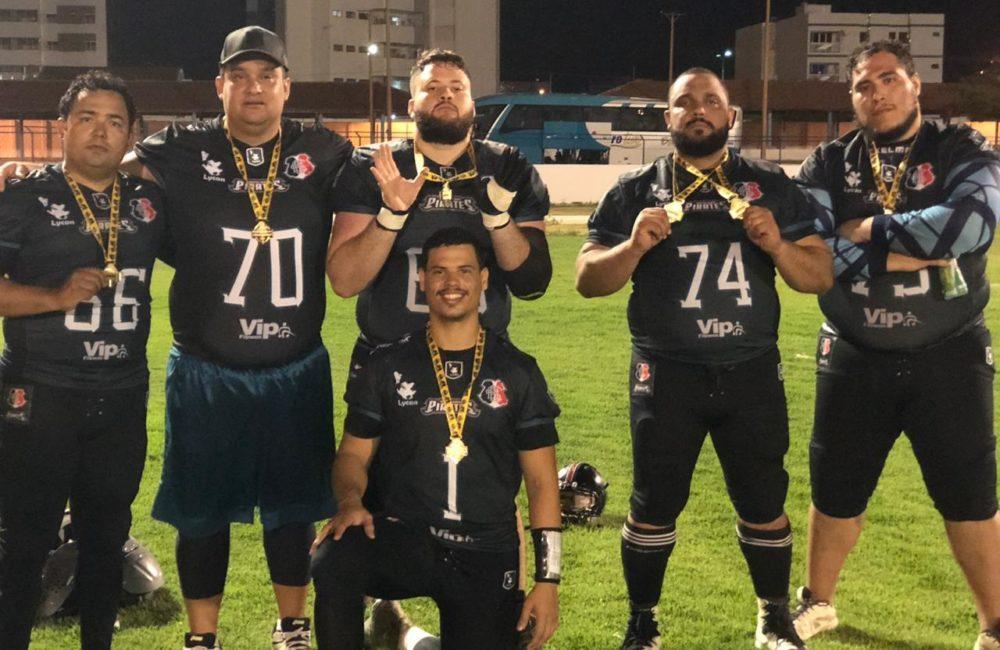 Futebol Americano: Santa Cruz Pirates é campeão da Liga Nordestina