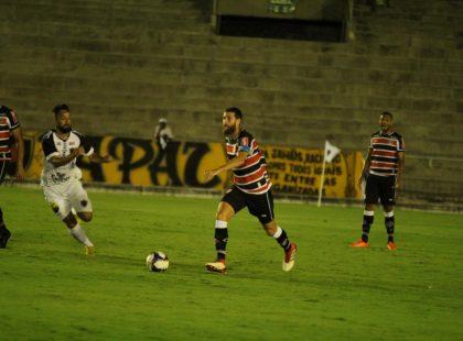 Copa do Nordeste: Santa Cruz estreia com empate fora de casa