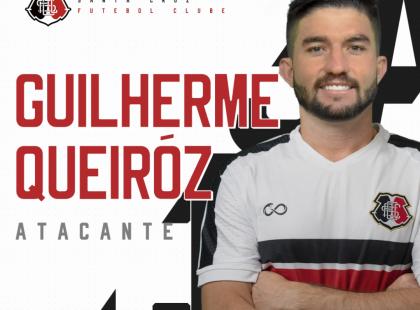 Guilherme Queiróz é o novo atacante coral