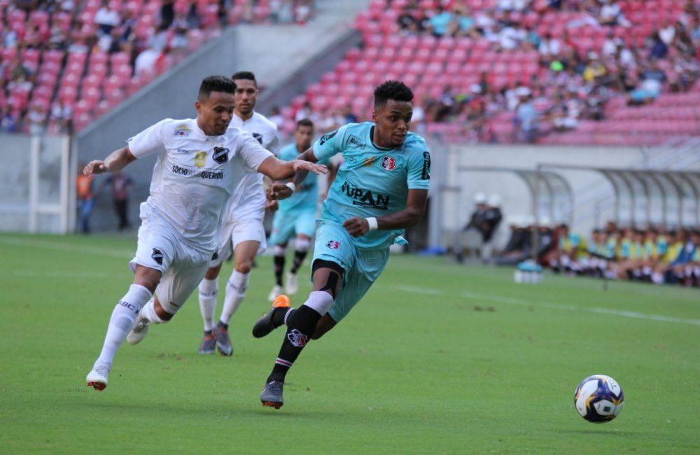 Copa do Nordeste: Com gol de Jô, Santa Cruz vence o ABC/RN na Arena