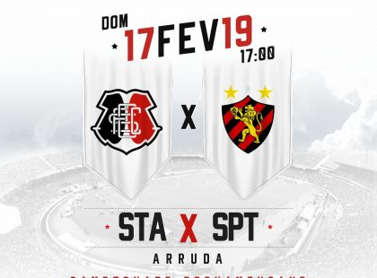 Ingresso para Santa Cruz x Sport Recife