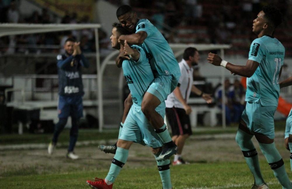 Copa do Nordeste: Com gol de Pipico, Santa se recupera na partida e fica no empate com o CSA/AL