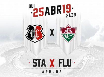 Ingressos: novos preços para Santa Cruz x Fluminense