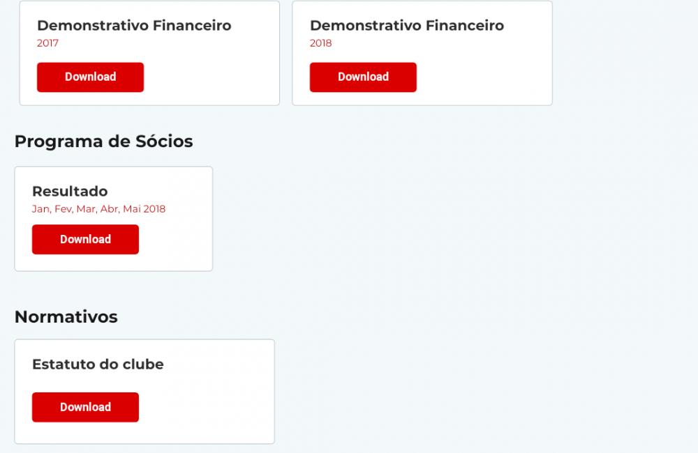 Balanço financeiro de 2018 disponível no portal de transparência