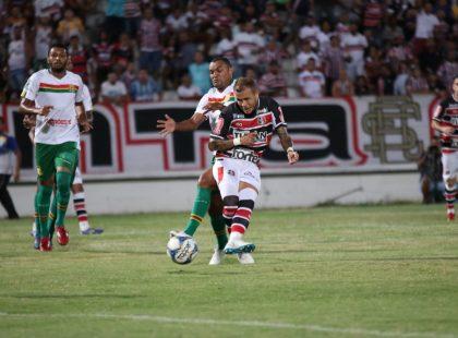 Série C: Santa Cruz fica no empate com o Sampaio Corrêa