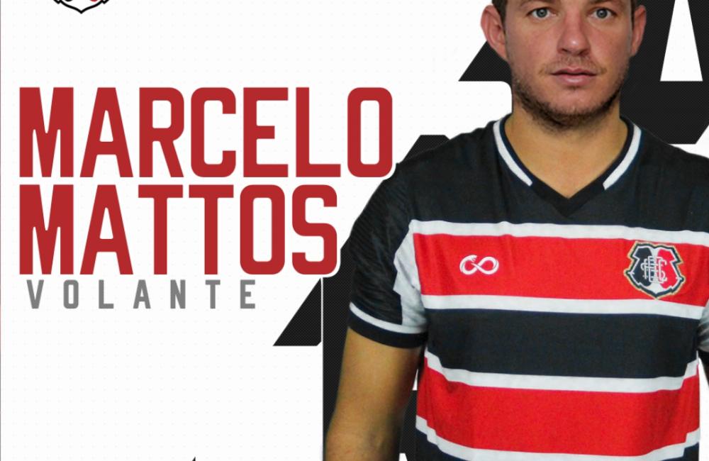 Marcelo Mattos é o novo reforço do Santa Cruz