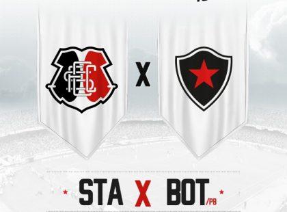 Ingressos para Santa Cruz x Botafogo/PB