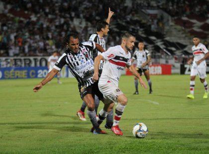 Série C: Santa Cruz empata em casa com o Botafogo/PB