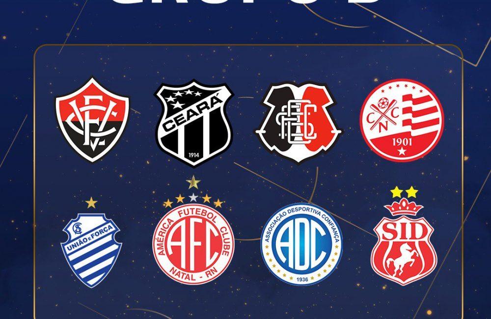 Copa do Nordeste 2020: grupos definidos
