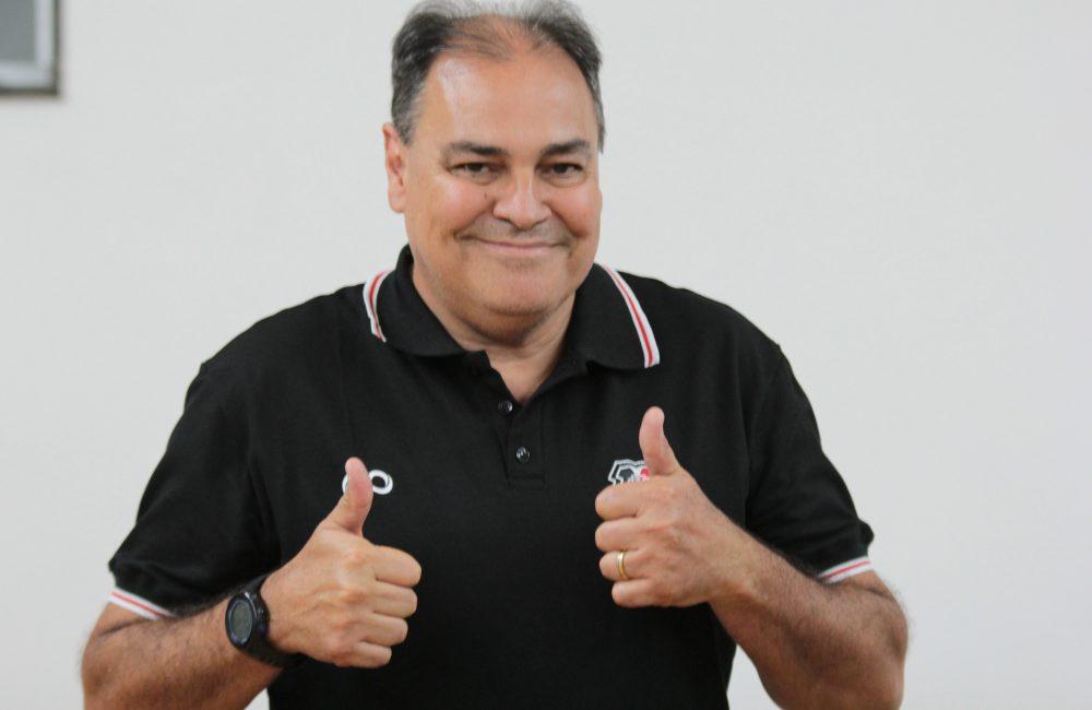 Nei Pandolfo falou pela primeira vez como Executivo coral