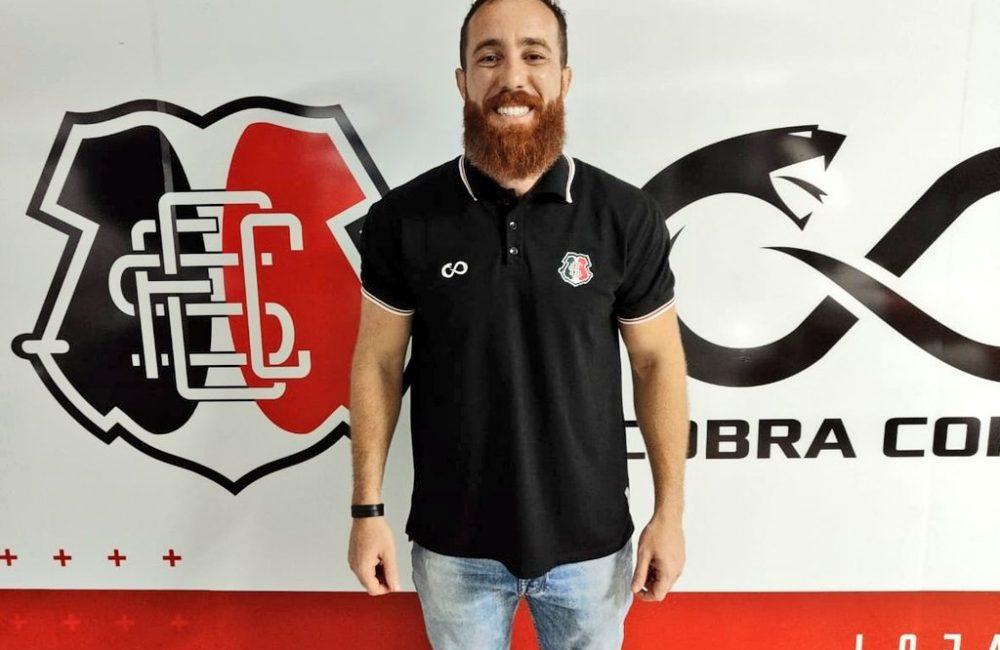 Thiago Duarte volta ao Santa Cruz e assume nova função