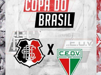 Copa do Brasil: Santa Cruz encara o Operário/MT