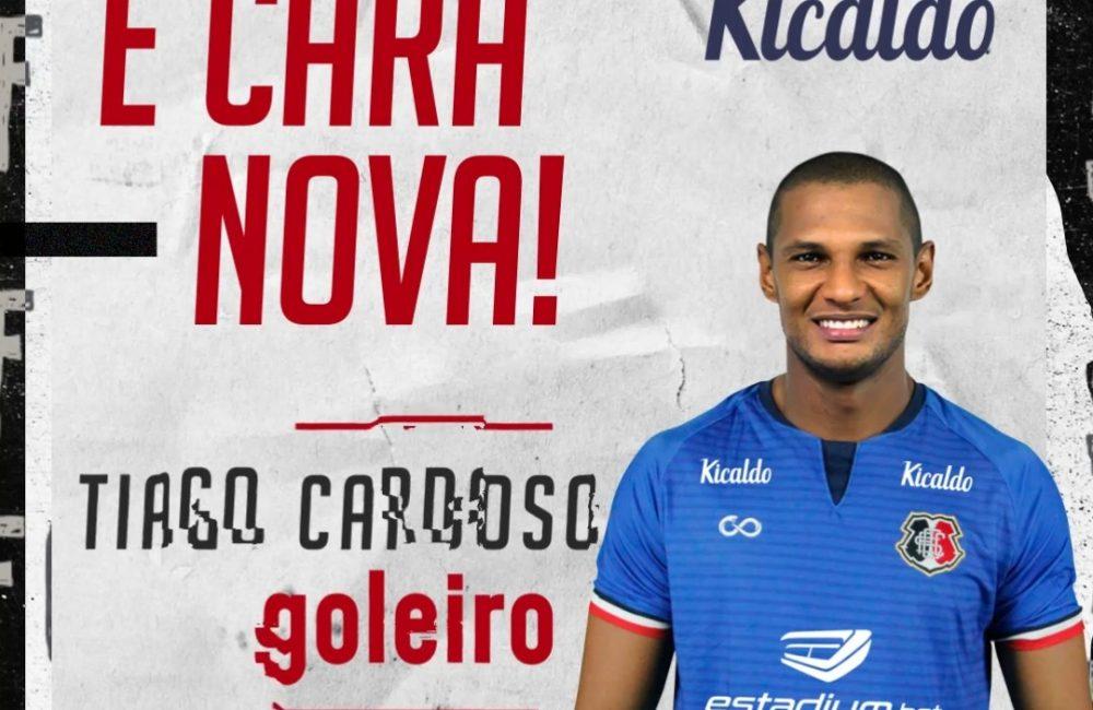 De volta! O paredão Tiago Cardoso acerta seu retorno ao clube