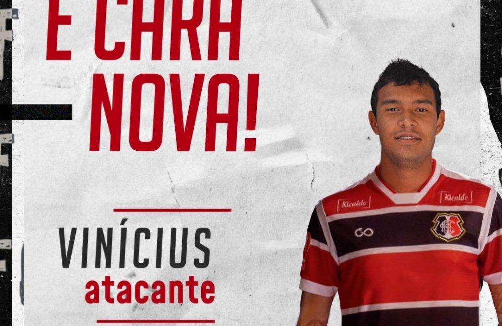 Vinícius é o novo atacante do Santa Cruz