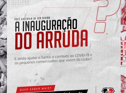 O que você acha de reviver a inauguração do Arruda?