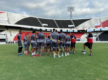 Santa Cruz dá sequência de treino visando o ABC no domingo