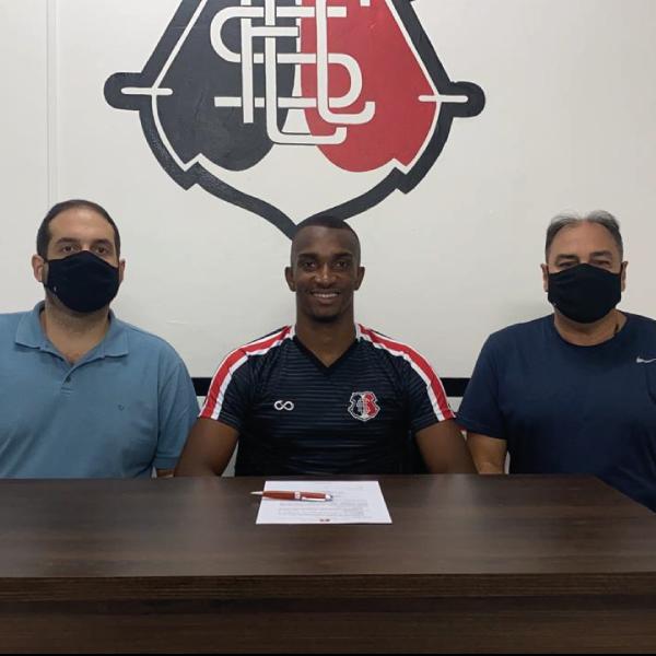 Jordan renova com o Santa Cruz até 2022