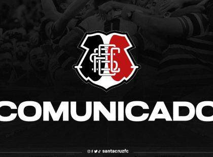 Comunicado: Colegiado de Futebol Profissional