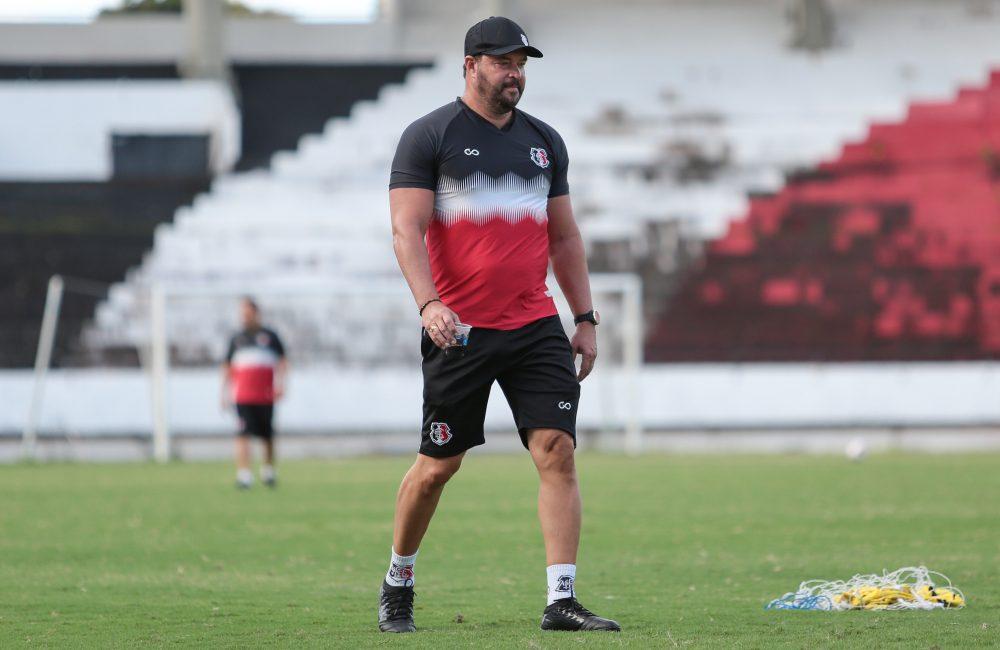 Santa Cruz faz último treino e concentra para enfrentar o Altos