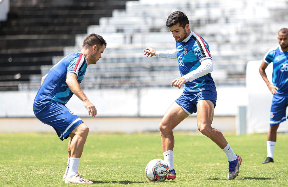 Santa Cruz treina no Arruda e reforça o trabalho para o 'Pré-Nordestão'