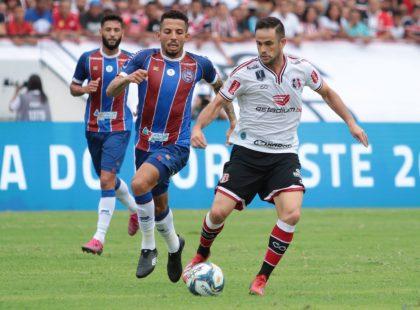 Copa do Nordeste: Santa estreia com empate diante do Bahia