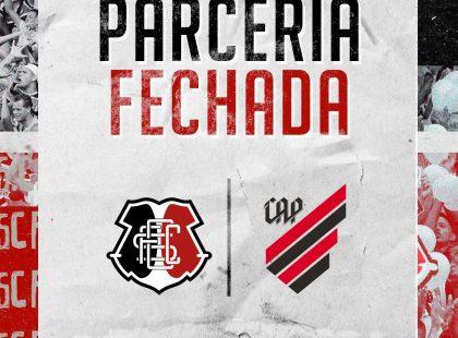Santa Cruz fecha parceria com Athletico Paranaense