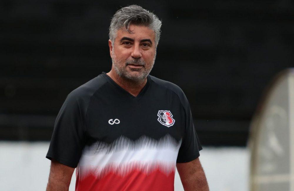 Apresentado, Alexandre Gallo comanda o primeiro treino pelo Santa Cruz