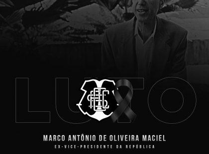 Luto - Marco Maciel